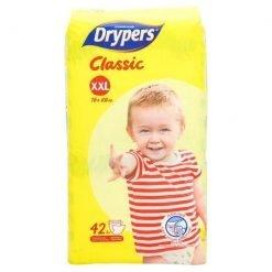 Drypers Classic XXL 15+kg Disposable Diaper 42pcs
